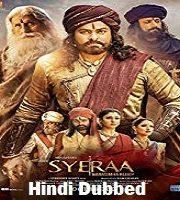 Sye Raa Narasimha Reddy 2019 Hindi Dubbed