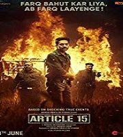 Article 15 2019 Hindi Film