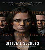 Official Secrets 2019 Film 123movies